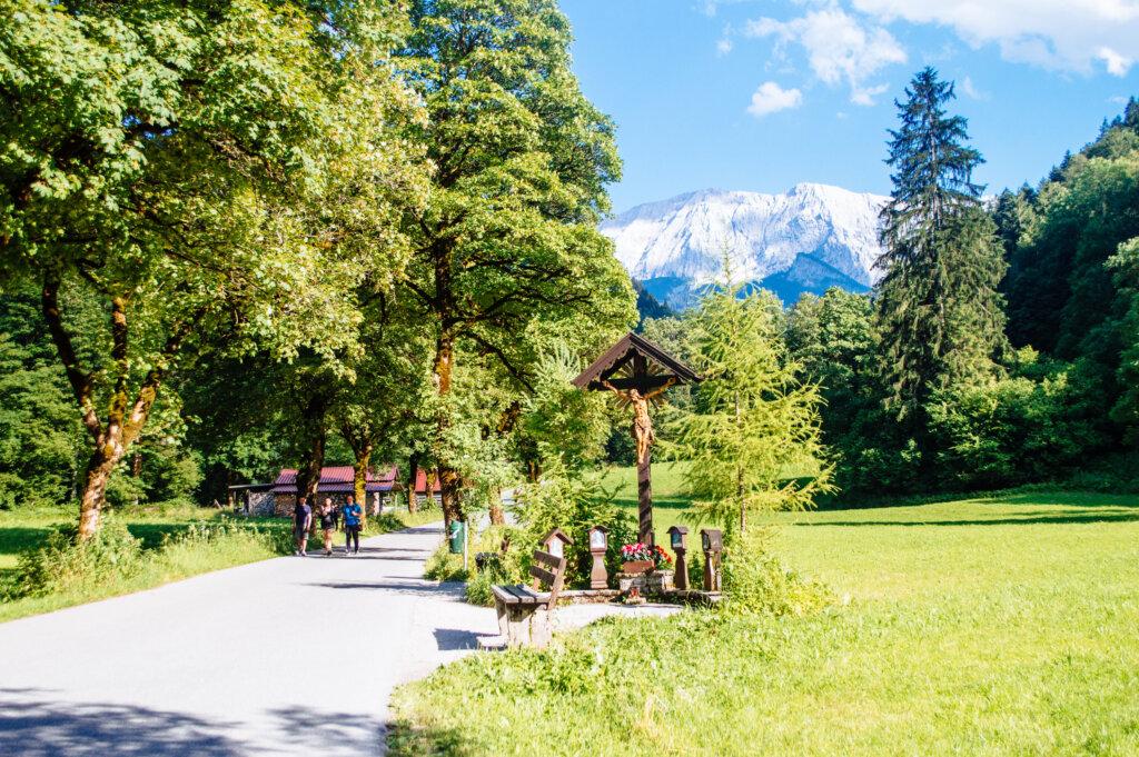 Walk to Partnachklamm in Garmisch-Partenkirchen