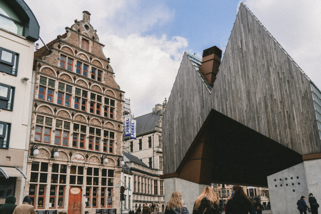 City Pavilion in Ghent, Belgium