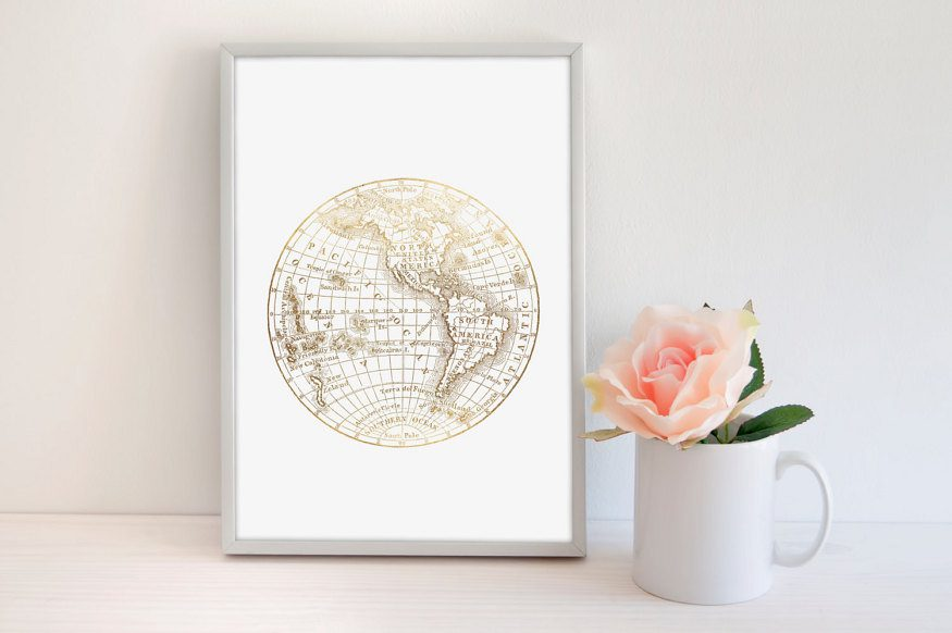 Obsessed with this awesome list of travel-inspired prints from Etsy! From minimalist to artsy, there's something gorgeous to match whatever kind of decor you have in your home.