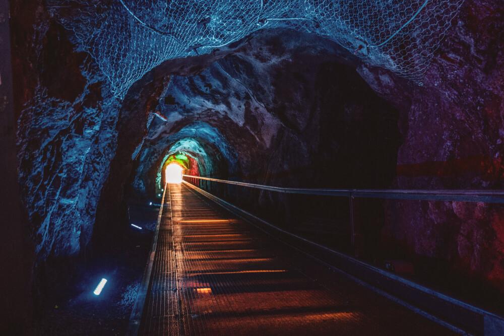 Schlossbergtunnel in Graz, Austria