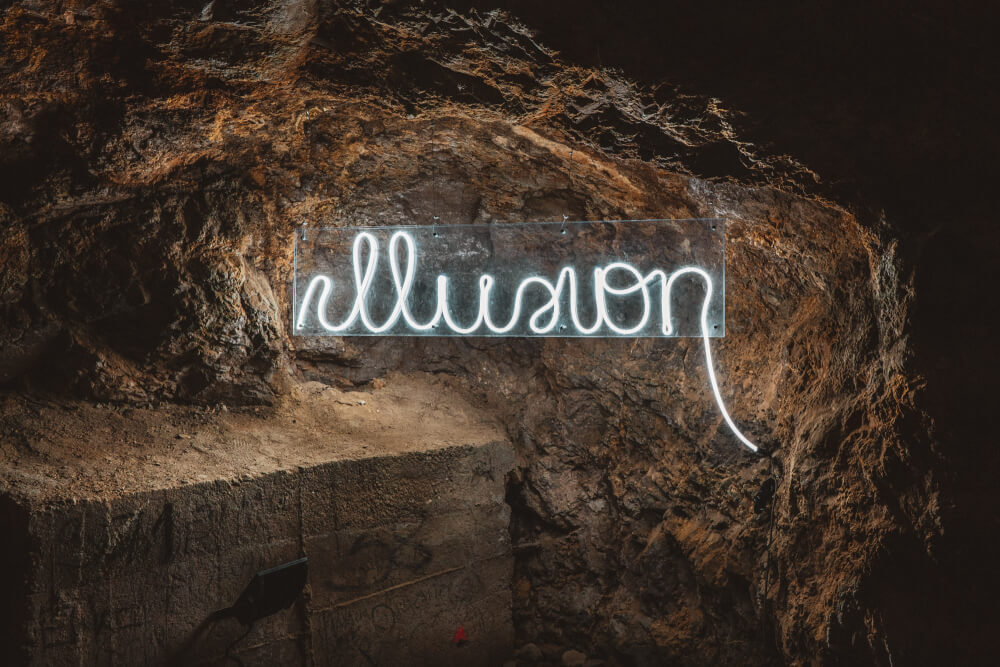 Schlossbergtunnel light installation in Graz, Austria