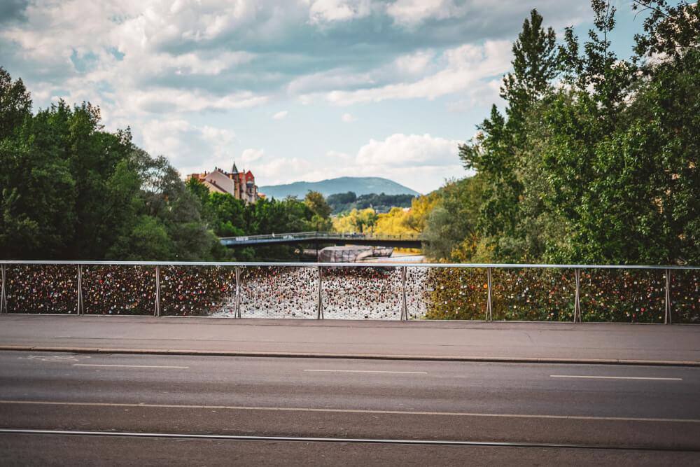 Erzeherzog-Johann-Brücke in Graz, Austria