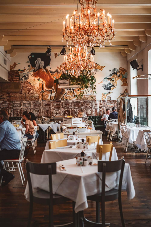 Restaurant Speisesaal in Graz, Austria