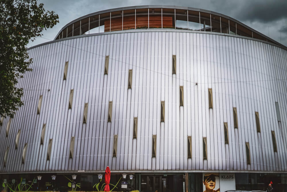 Rondo building in Graz, Austria