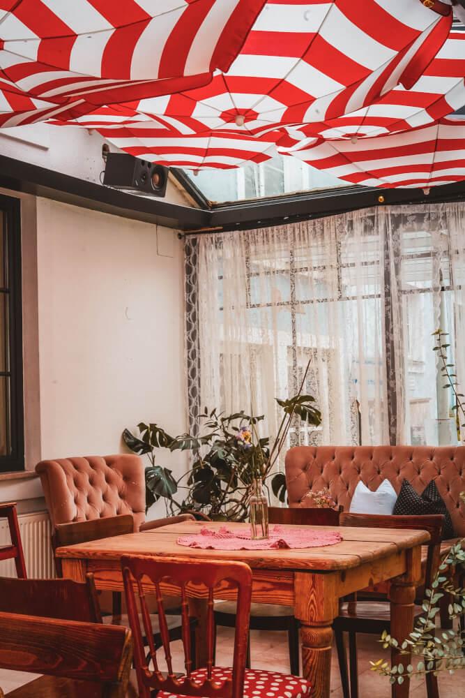 Blended cafe in Graz, Austria