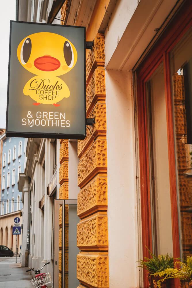 Ducks Coffee Shop in Graz, Austria