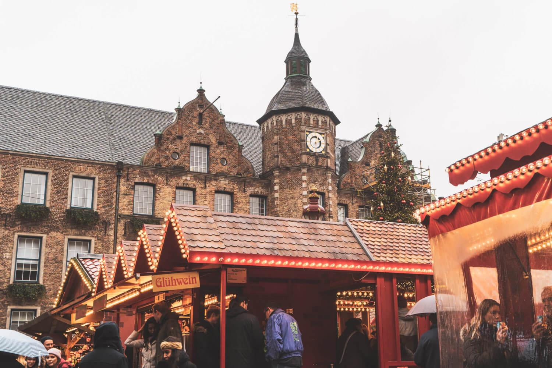 Handwerker Markt in Dusseldorf, Germany