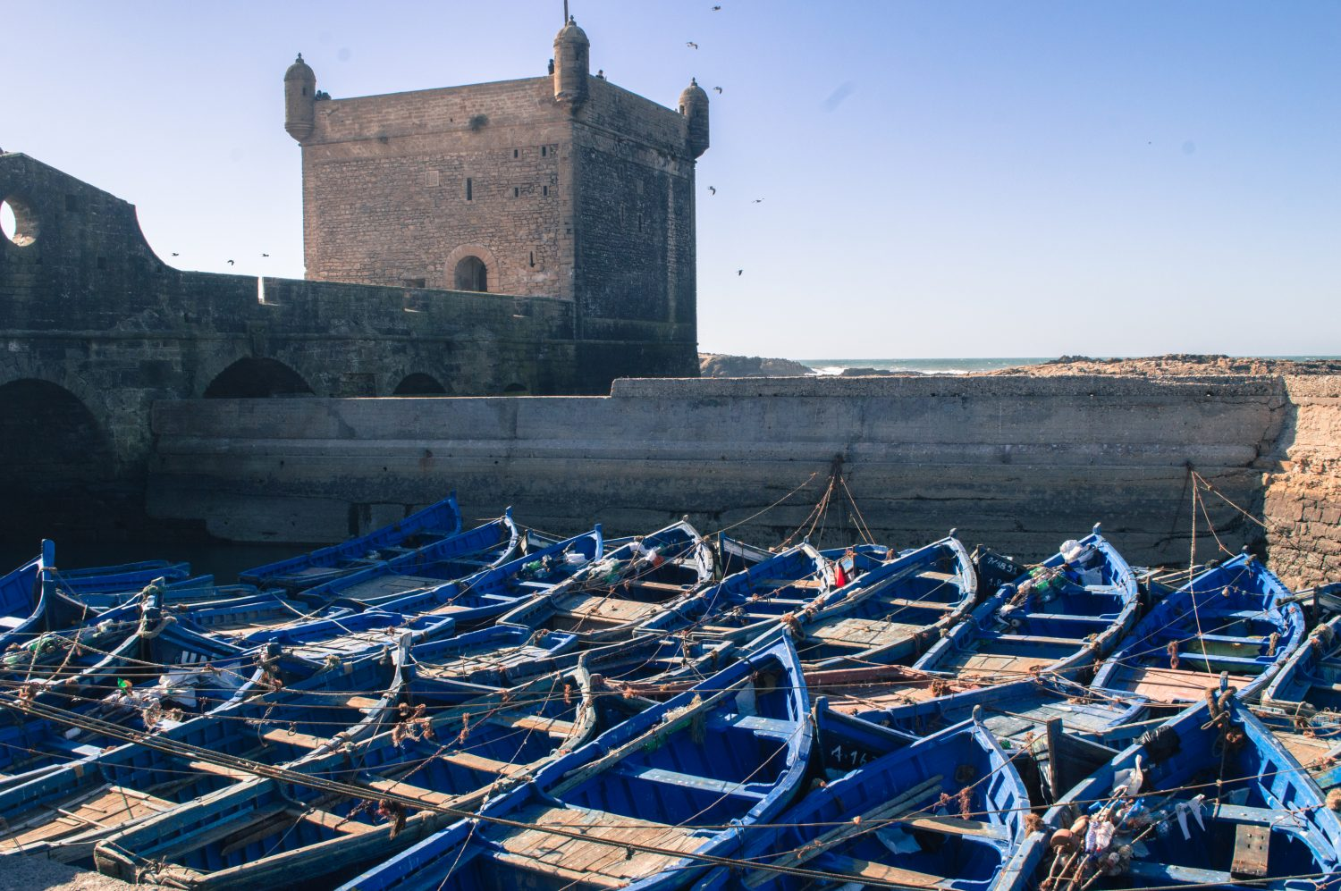 Essaouira in the winter