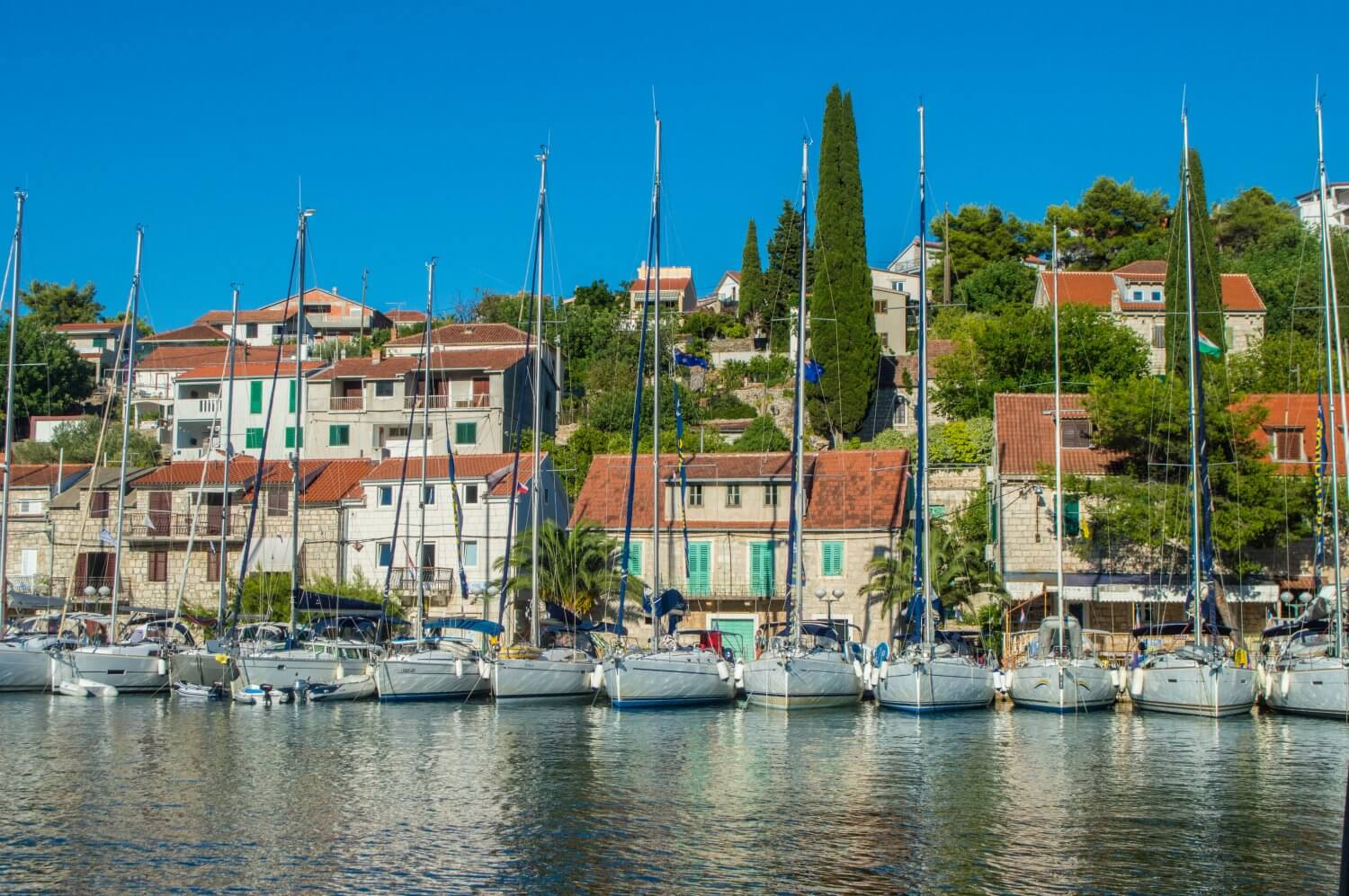 The ultimate packing guide for a sailing trip in Croatia! Don't miss these amazing tips for packing on your Croatia sail trip. #Croatia #Sailing #PackingList
