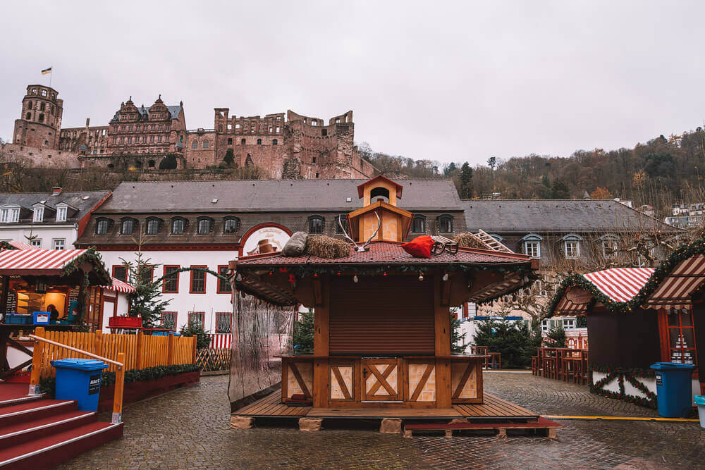 Heidelberg Christmas Market, one of the best Christmas markets in Germany