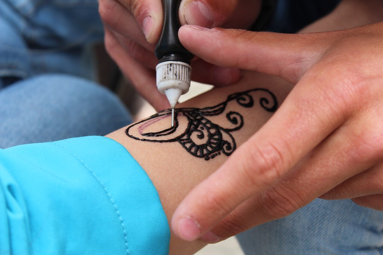 Henna in Morocco