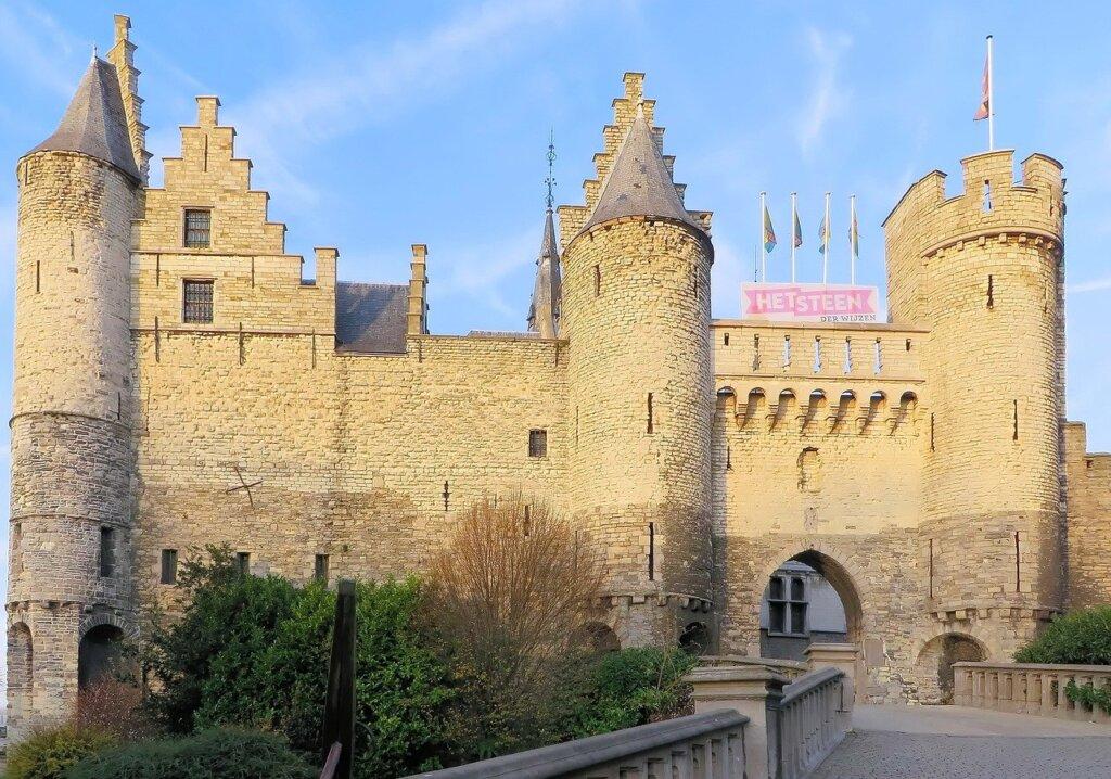 Het Steen Castle in Antwerp