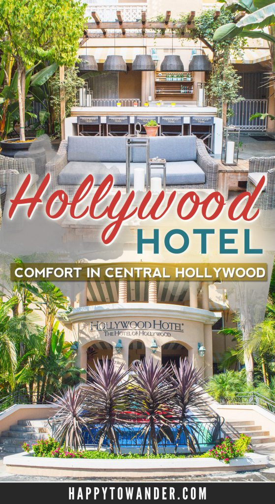 The Hollywood Hotel in Los Angeles is a comfortable, tranquil hotel located close to all the major sights in Hollywood! Read on for a detailed review of what to expect.