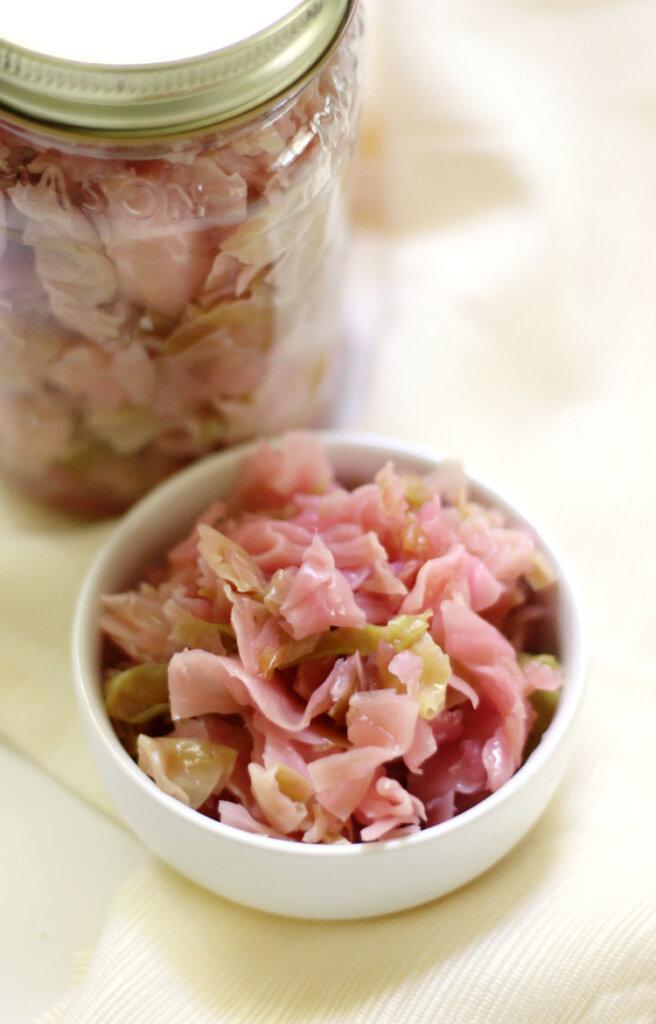 Vegan sauerkraut