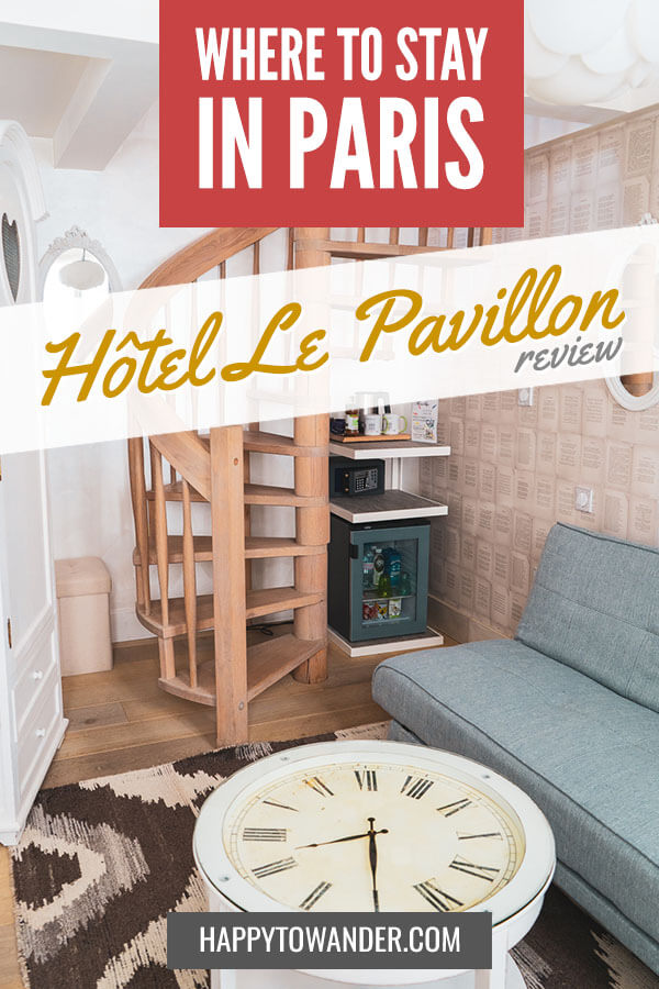 If you're looking for an amazing hotel to stay at in Paris, check out this full review of the amazing Hotel le Pavillon. #hotel #paris #travel
