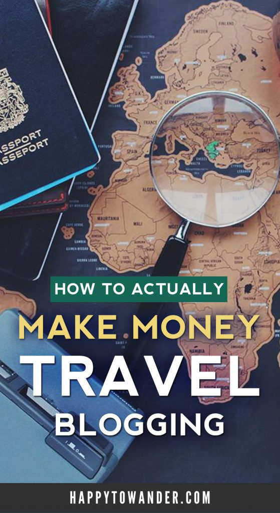 What's the secret to making money with a travel blog? Hint: it has nothing to do with ads or sponsored posts. Learn the secret to making money from blogging (literally in your sleep!)