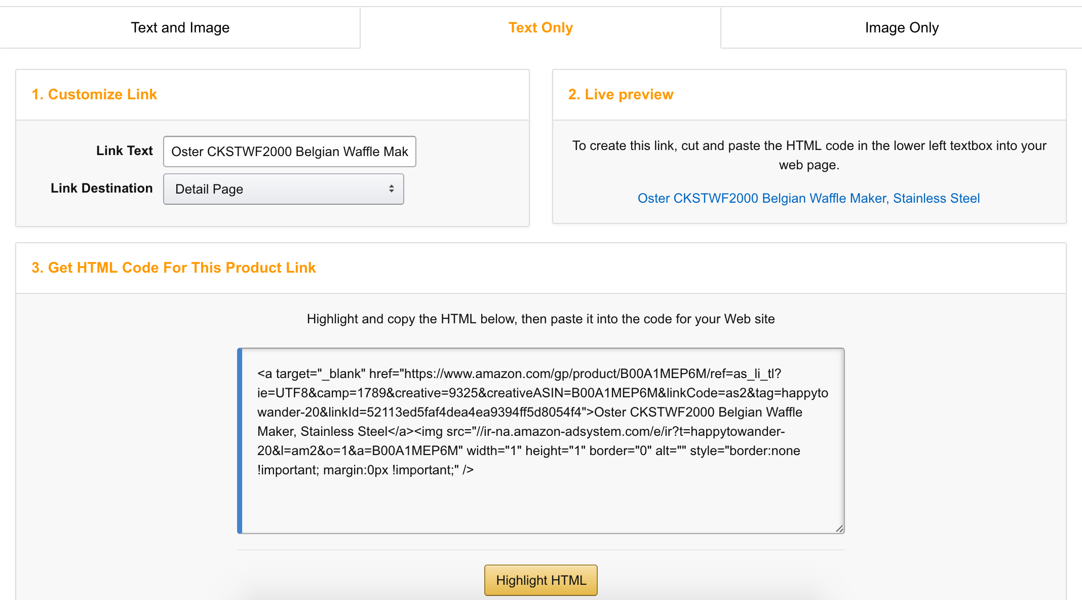 Amazingly easy and simple guide to generating deep links on Amazon Associates. This step by step tutorial is easy, clear and perfect for affiliate marketers looking to start out!