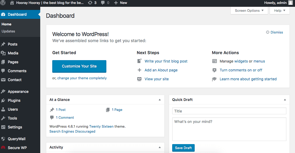 Starting a self-hosted WordPress blog for free? YES it's possible! Here's a step by step guide to get you set up with a professional WordPress.org account, without spending a dime.