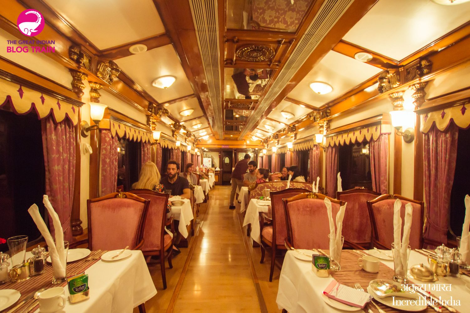 An insider peek into life on board the Golden Chariot, one of India's top luxury trains. #TrainTravel #India #LuxuryTravel
