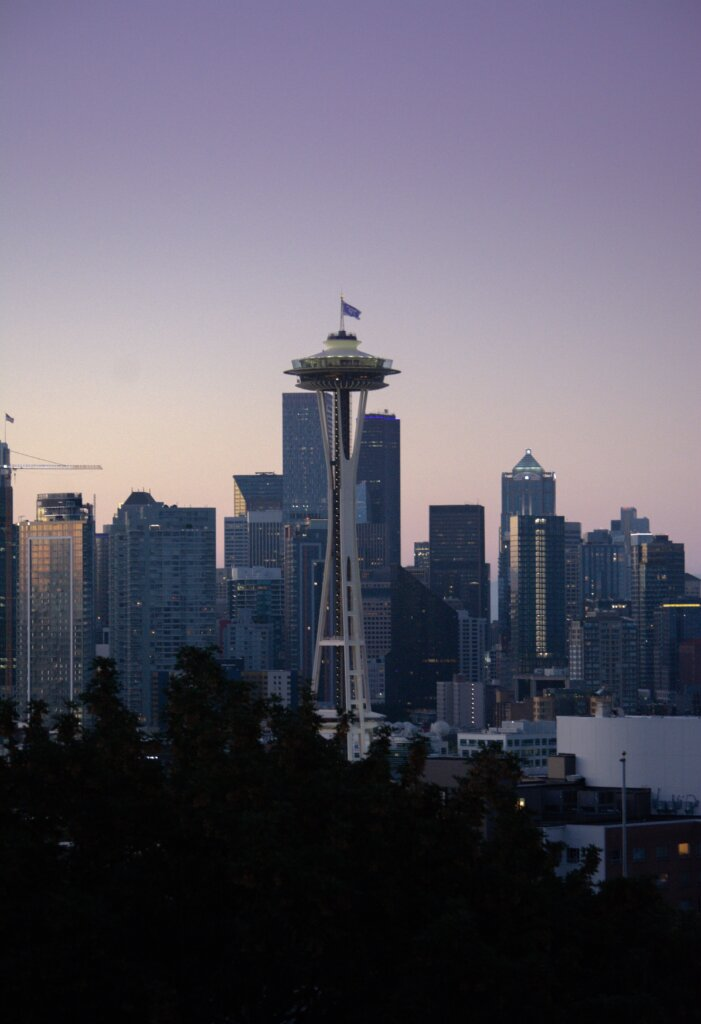 View of the Seattle skyline from Kerry Park