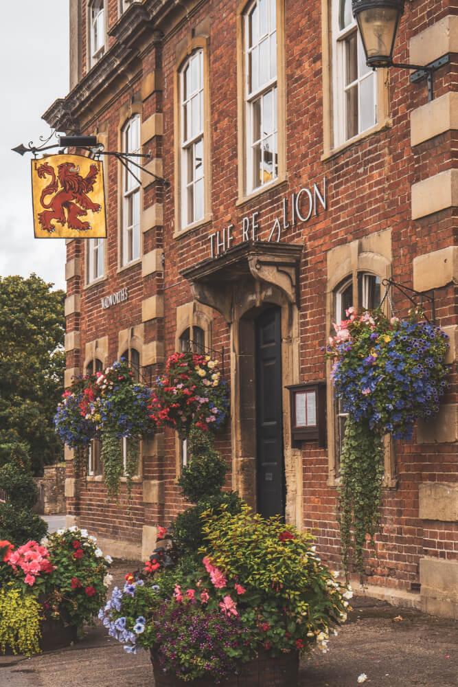 Adorable pub in Lacock, England