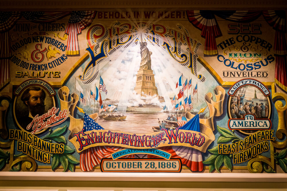 Liberty Tableau at Disneyland Paris