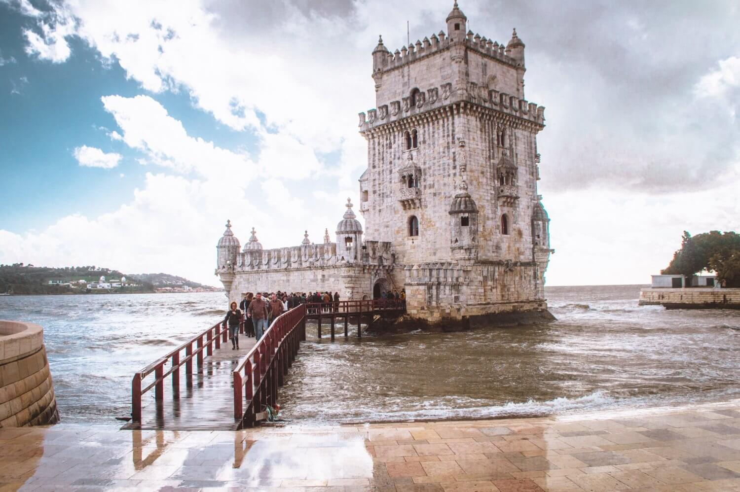 The Tower of Belem, a must see when you visit Lisbon