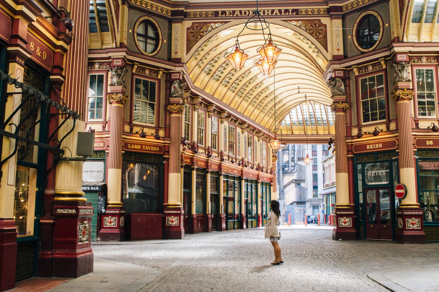 Leadenhall Market, a Harry Potter filming location in London