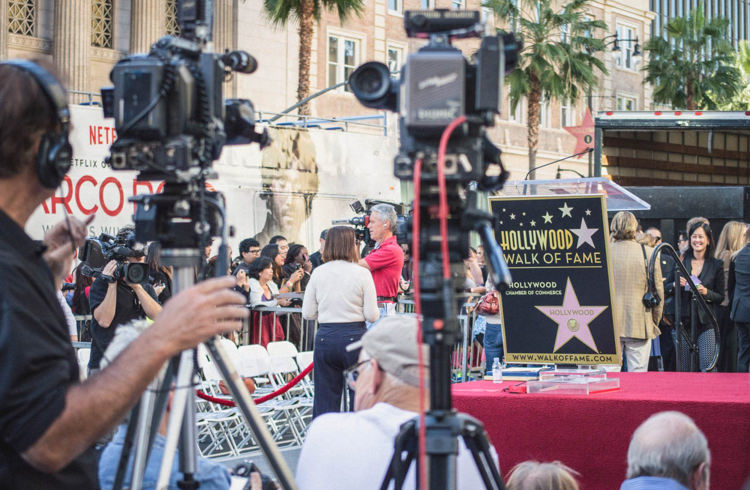 A guaranteed way to see celebrities in LA! Hollywood Walk of Fame ceremonies are free and awesome. Here's your guide on how to attend one.