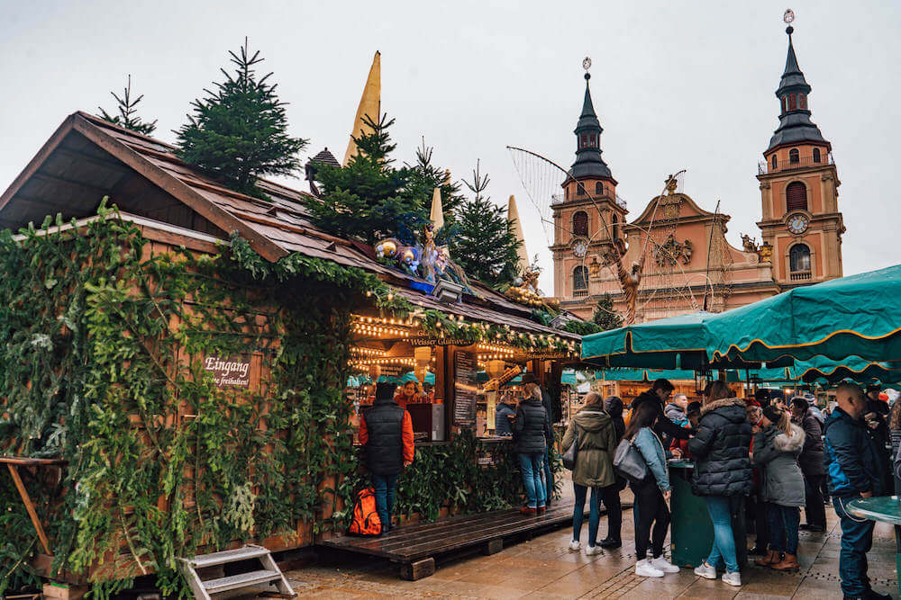 Ludwigsburg Christmas Market, one of the best Christmas markets in Germany