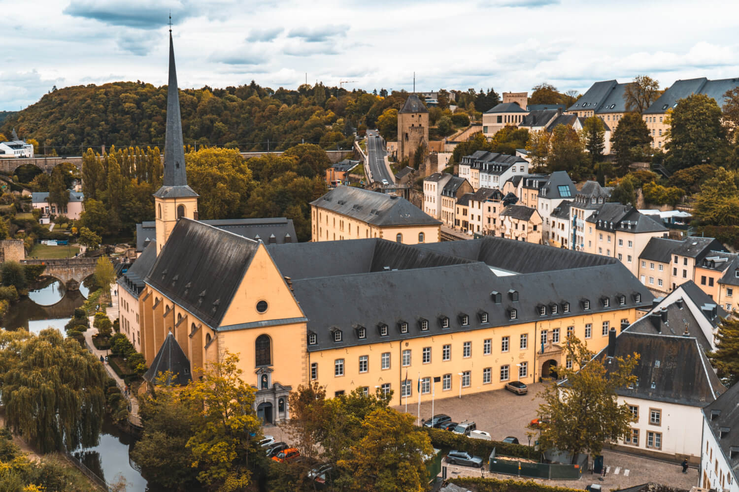 Luxembourg City in the Fall