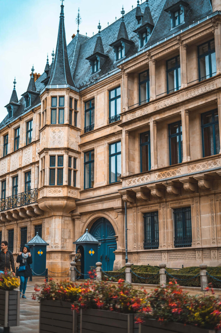 The Grand Duchal Palace in Luxembourg City
