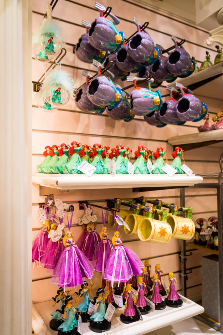 Christmas shop at Disneyland Paris