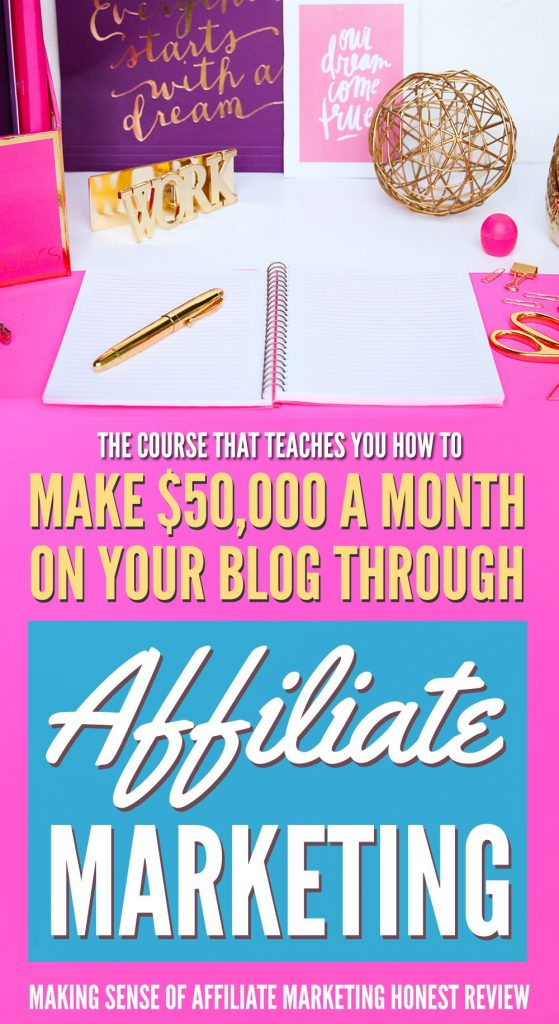 Is Making Sense of Affiliate Marketing too good to be true? Is it possible to earn passive income on your blog through affiliate marketing, and will this course help you get there? Click through for an honest review of the Making Sense of Affiliate Marketing course.