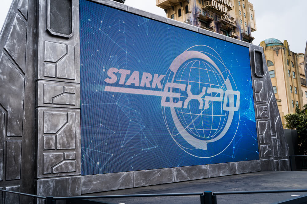 Stark Expo at Marvel Season of Heroes at Disneyland Paris
