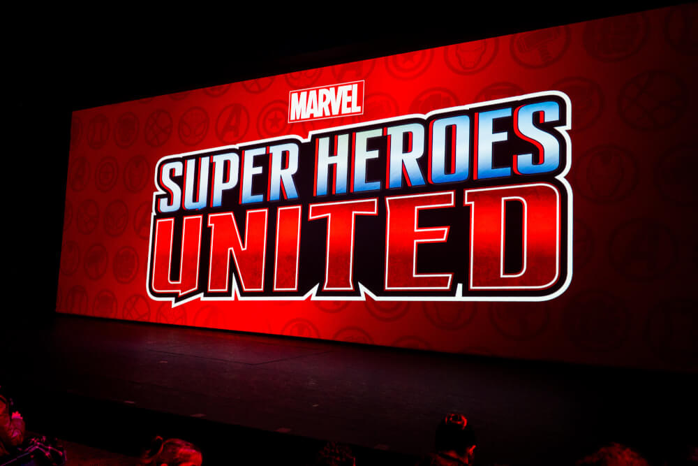 Marvel Super Heroes United Show at Marvel Season of Heroes at Disneyland Paris