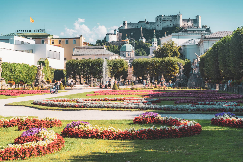 Mirabell Gardens, Salzburg