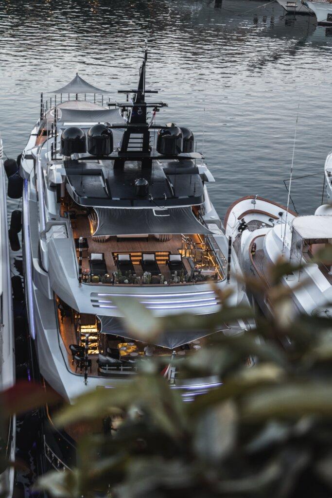 Yacht in Monaco