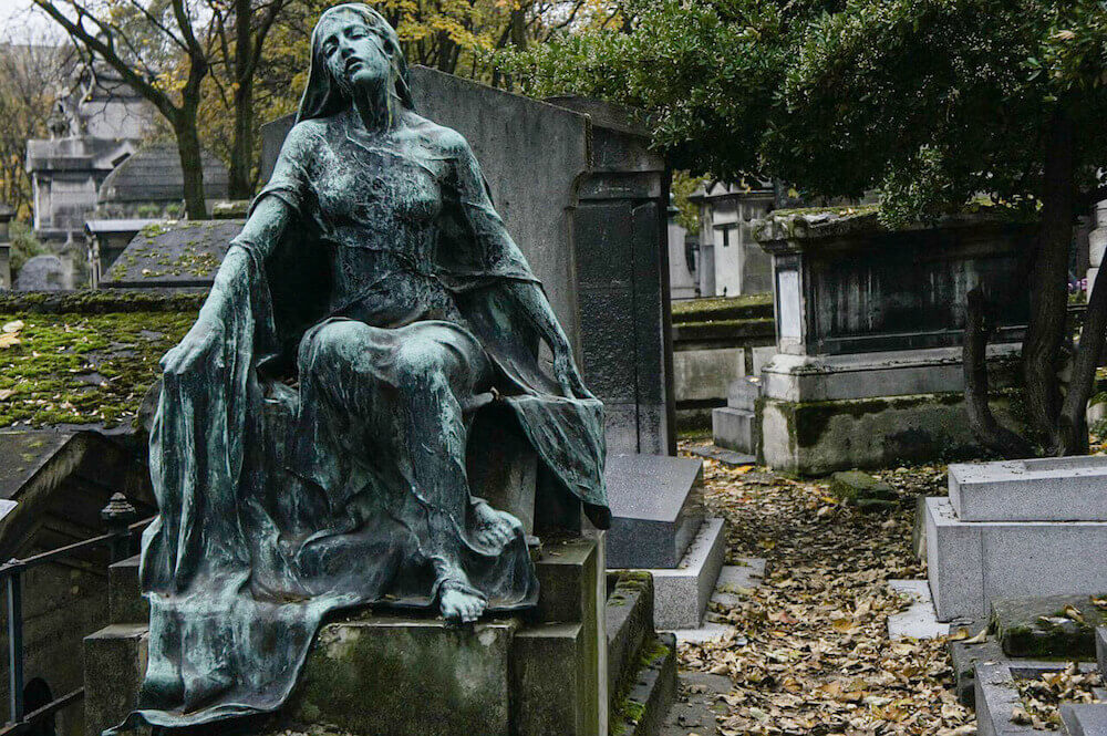 Cemetery in Montmartre, Paris