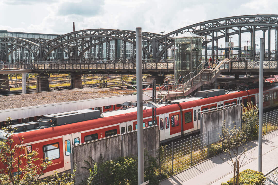 Trains in Munich, Germany