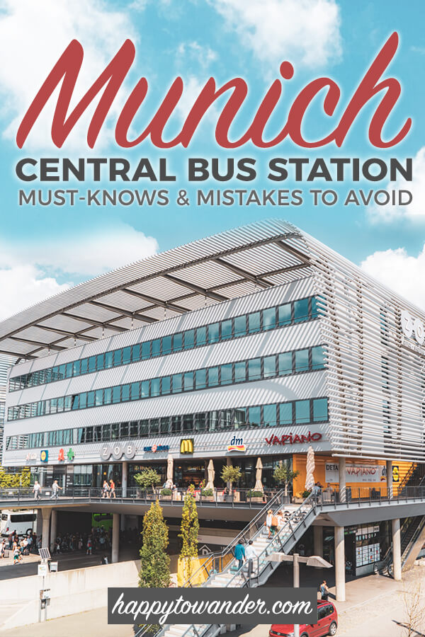 Munich Central Bus Station Guide Everything You Need To Know