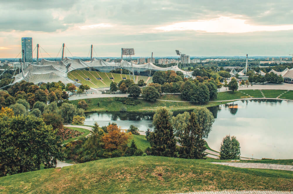 The Olympiapark area of Munich - such an underrated piece of the city!