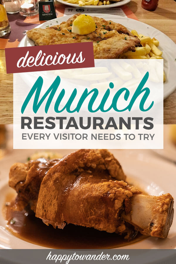 These Munich restaurants are a must-visit for your next trip to Munich, Germany! If you're looking for ideas on what to eat in Munich and where to go, then be sure to check out this article featuring recommendations from a local. #Munich #Germany #Travel