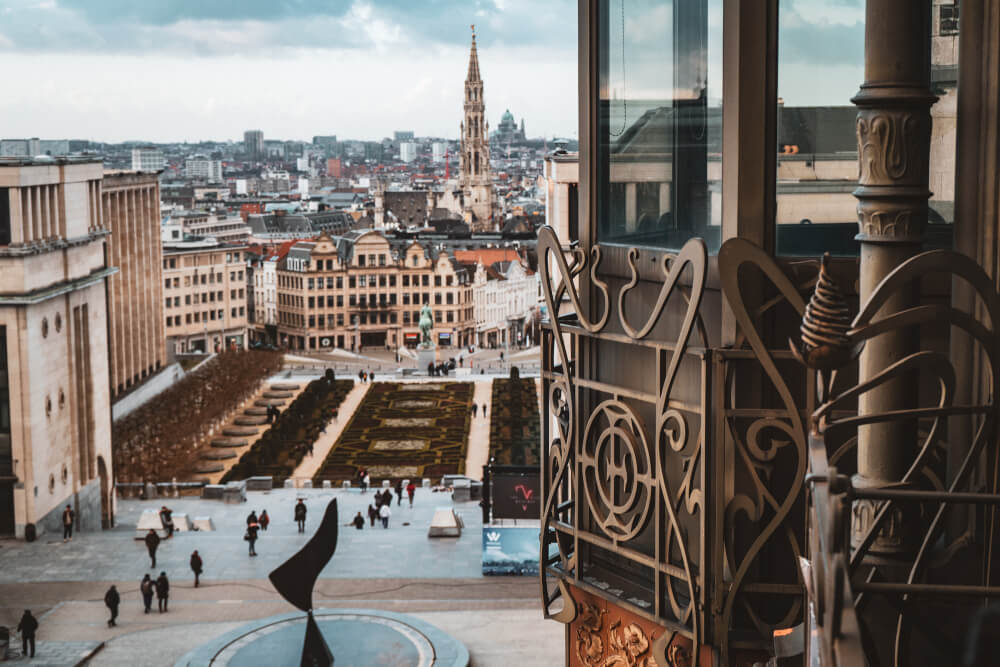 View from the Museum of Musical Instruments in Brussels