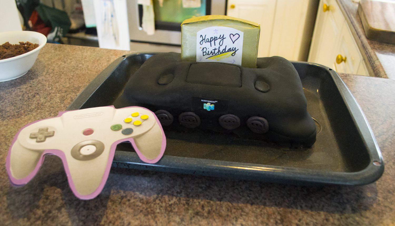 Nintendo 64 Cake Birthday Surprise