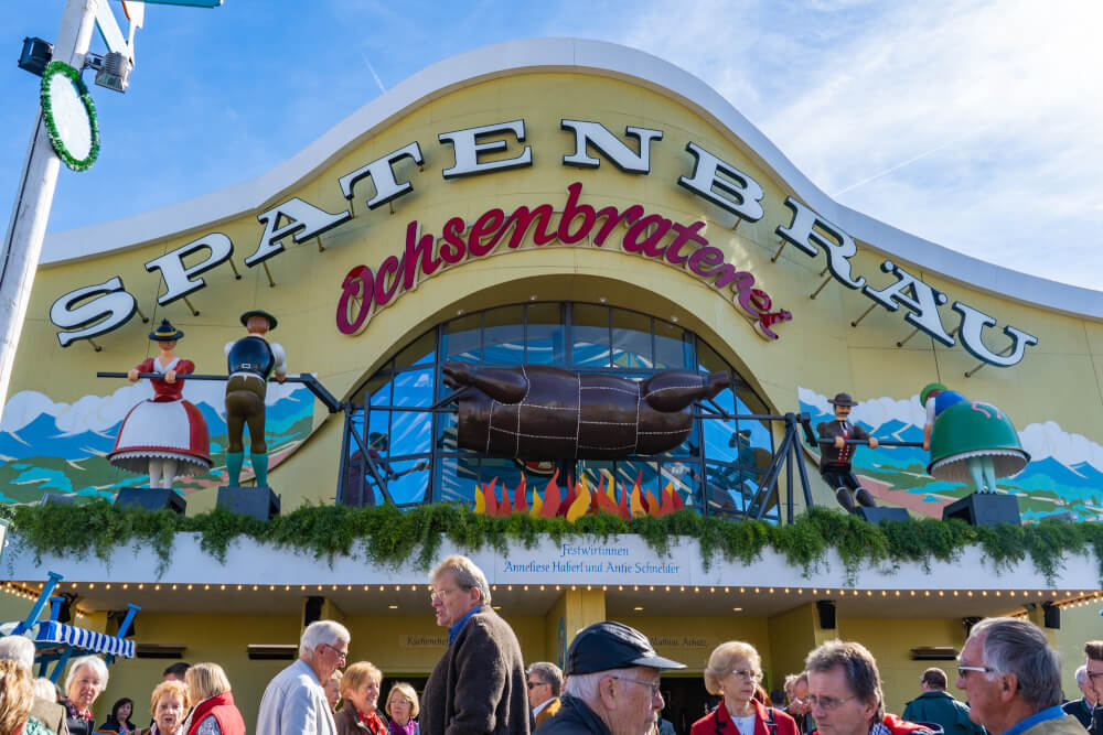 Ochsenbraterei at Oktoberfest in Munich, Germany