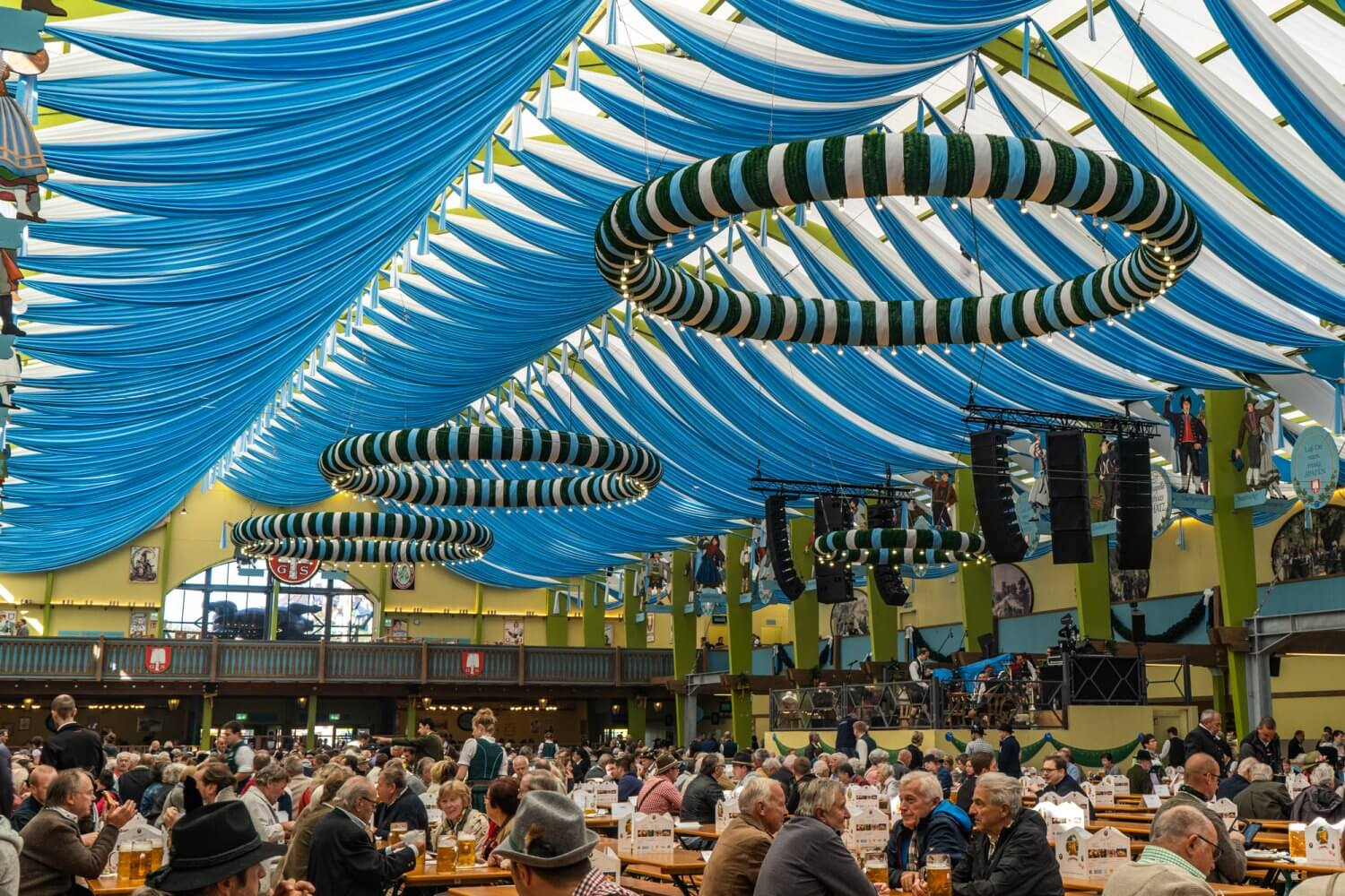 The Ochsenbraterei at Oktoberfest in Munich, Germany