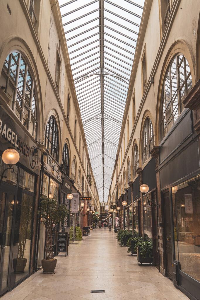 Covered passageway in Paris