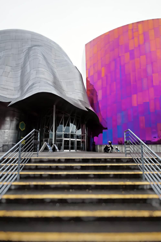 Pop culture museum in Seattle