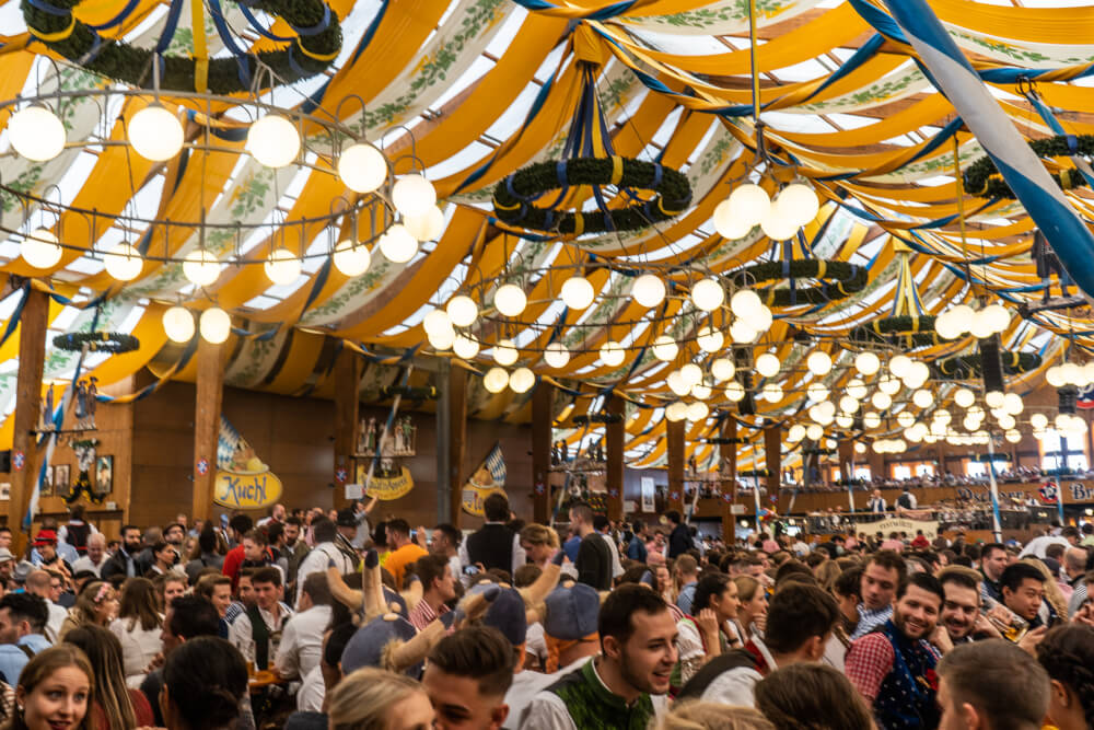Oktoberfest in Munich, Germany